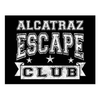 Club del escape de Alcatraz Postal