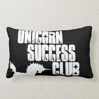 Club del éxito del unicornio/almohada stabby cojines