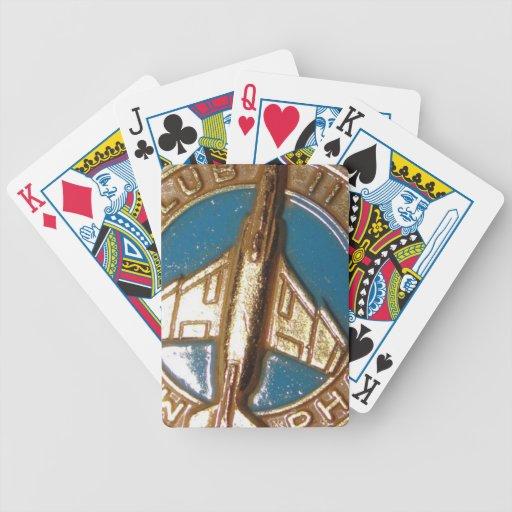 club del fantasma f-4 baraja cartas de poker