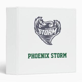 """Club del fútbol de la tormenta de Phoenix Carpeta 1 1/2"""""""