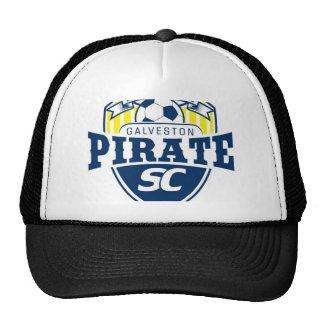 Club del fútbol del pirata de Galveston Gorra