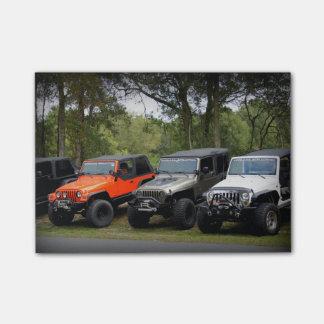 Club del jeep notas post-it®