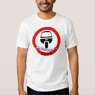 club del monorrail camisas