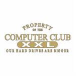 Club del ordenador escultura fotográfica