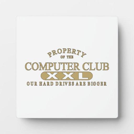 Club del ordenador placa