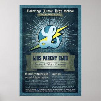 Club del padre de LJHS Poster