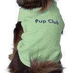 Club del perrito camiseta de mascota