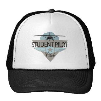 Club del piloto de estudiante gorro