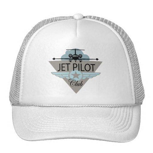 Club del piloto de jet gorra