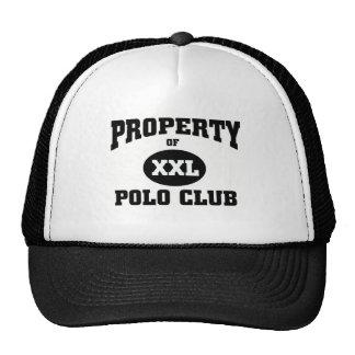 Club del polo gorro