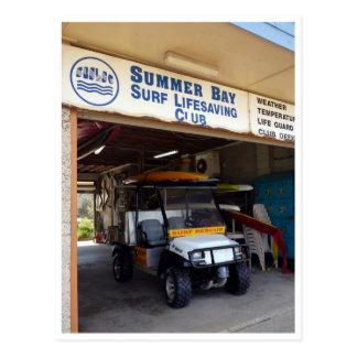 club del salvamento de la bahía del verano postal
