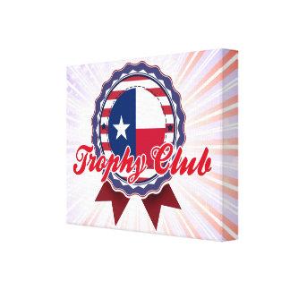 Club del trofeo, TX Impresión En Lona
