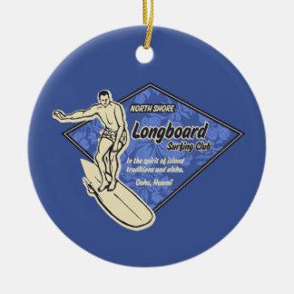 Club Diamond Surfer Ornament