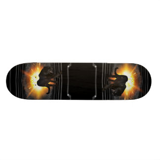 club disco DJ keyboard Black panther Deejay Skateboard Deck