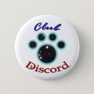 club discord paw button! pinback button