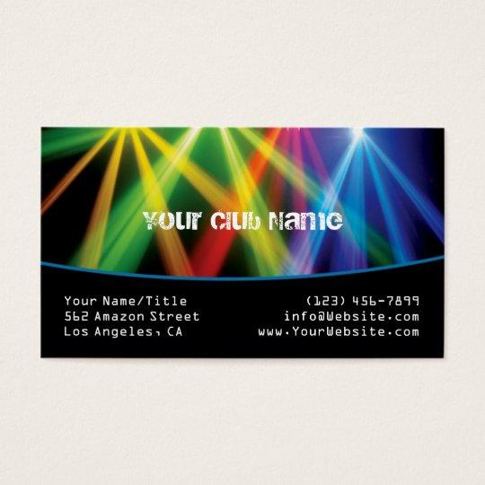 Club/DJ Business Card