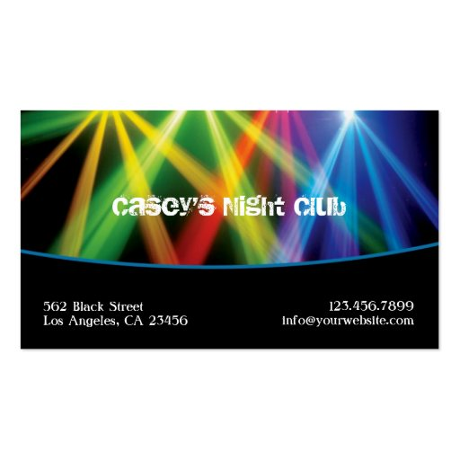 Club / DJ Business Card
