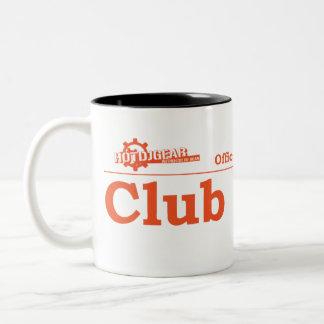 Club DJ Certified Two-Tone Coffee Mug