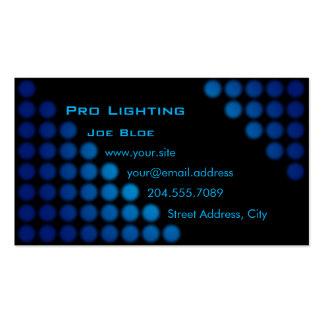 Club DJ / Lighter Business Card