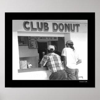 Club Donut Poster
