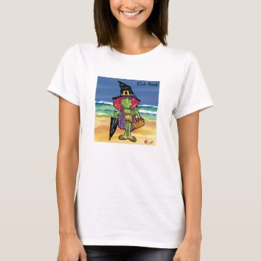 Beach Themed Club Dread t-shirt