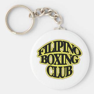 CLUB FILIPINO DEL BOXEO LLAVERO REDONDO TIPO PIN