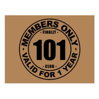 Club finalmente 101 postal