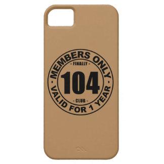 Club finalmente 104 iPhone 5 carcasas