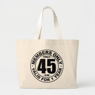 Club finalmente 45 bolsa tela grande