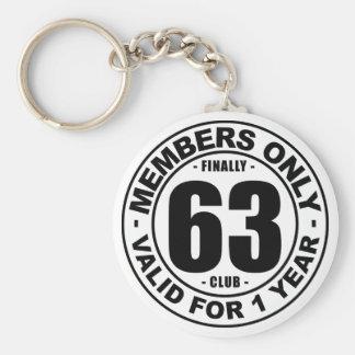 Club finalmente 63 llavero redondo tipo pin