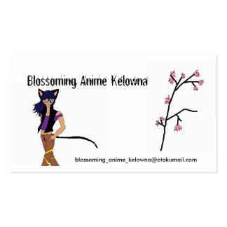 Club floreciente de Kelowna del animado Tarjetas De Visita