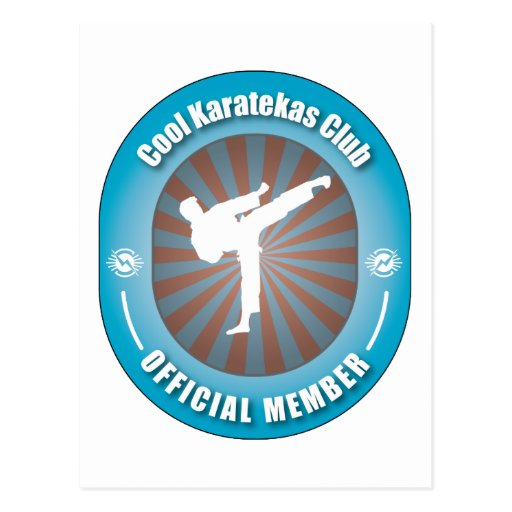 Club fresco de Karatekas Tarjetas Postales