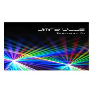 Club fresco de la luz laser - tarjeta de visita de