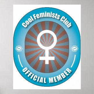 Club fresco de las feministas impresiones