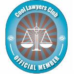 Club fresco de los abogados escultura fotográfica