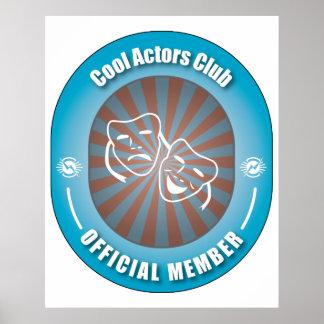 Club fresco de los actores posters