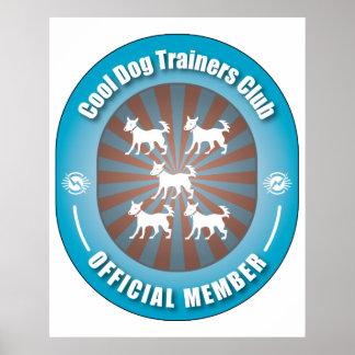 Club fresco de los adiestradores de perros impresiones