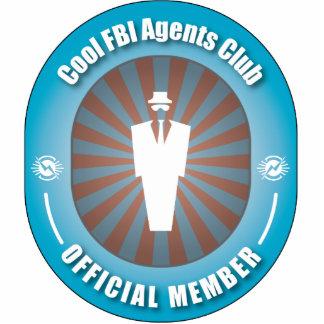 Club fresco de los agentes del FBI Adorno Fotoescultura