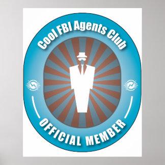 Club fresco de los agentes del FBI Poster