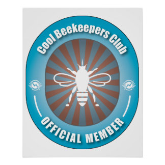 Club fresco de los apicultores posters