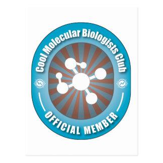 Club fresco de los biólogos moleculares postal