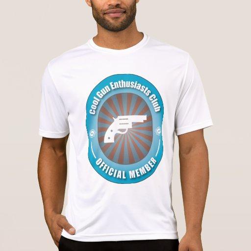 Club fresco de los entusiastas del arma tee shirt