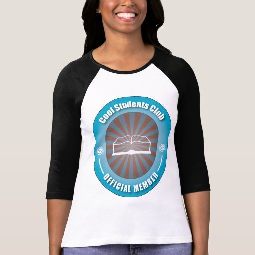Club fresco de los estudiantes camisetas