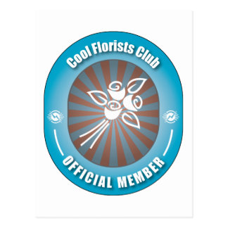 Club fresco de los floristas postales