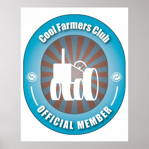 Club fresco de los granjeros impresiones