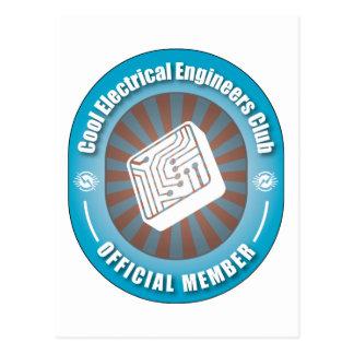 Club fresco de los ingenieros eléctricos postal