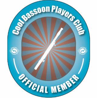 Club fresco de los jugadores del Bassoon Adorno Fotoescultura