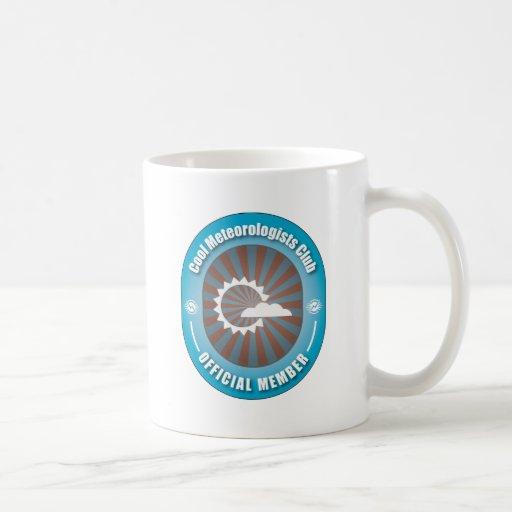 Club fresco de los meteorólogos taza de café