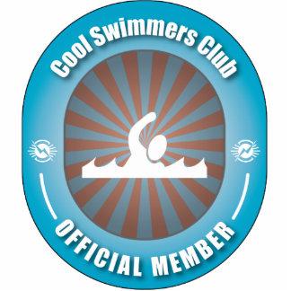 Club fresco de los nadadores escultura fotografica