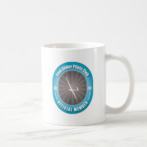 Club fresco de los pilotos de planeador taza de café